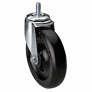 "5"" Light-Medium Duty Swivel Stem Caster, 300 lb. Load Rating"