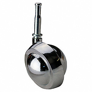 "2-1/2"" Light-Duty Swivel Stem Caster, 100 lb. Load Rating"