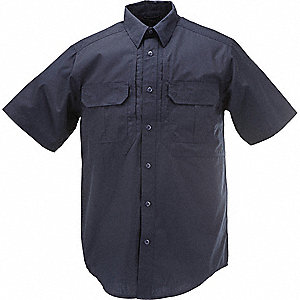 Taclite Pro Short Slv Shirt,XL,Dark Navy