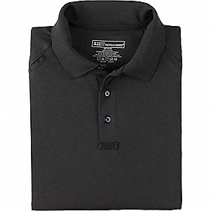 Performance Short Sleeve Polo, 3XL, Black