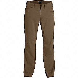 "Ridgeline Pants. Size: 35"", Fits Waist Size: 35"", Inseam: 30"", Battle Brown"
