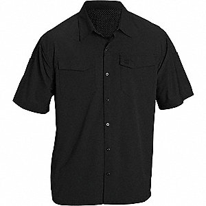 Freedom Flex Woven Shirt,S,Black