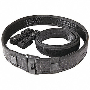 Duty Belt,Mens,M,Black