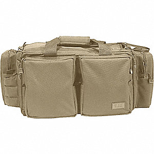 Utility/GP Pouch, Hook-and-Loop, 600D Polyester with Water Resistant TPE Back Coating, Sandstone