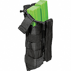 Bungee Cover Pouch,Black,MP5 Style Mags