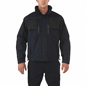 "Valiant Duty Jacket, 3XL Fits Chest Size 56"", Dark Navy Color"