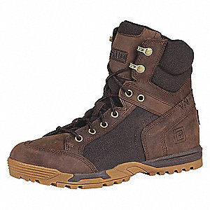 "6""H Men's Pursuit Advance Boots, Plain Toe Type, Distressed Leather and Suede, Wax Coated 1200D Nylo"
