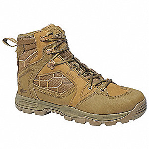 Military/Tactical XPRT 2.0 Tactical Desert Boots, Dark Coyote, Size: 5