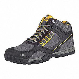 "6""H Men's Range Master Athletic Boots, Plain Toe Type, Synthetic Leather, 340g Ripstop Nylon, Helcor"