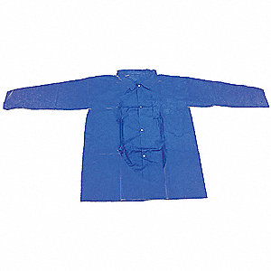 Disposable Lab Coat,5XL,Blue,PK30
