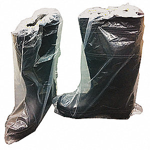 "15-1/2"" Boot Cover, Slip Resistant Sole: No, Waterproof: Yes, 19-3/4"" Height"