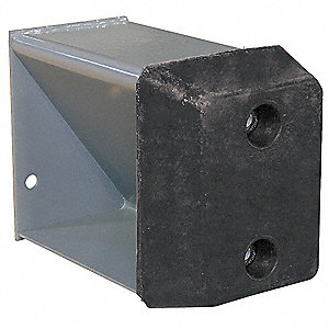 Dock Bumper Base, Includes Steel Base