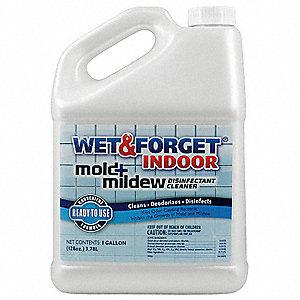 Wet And Forget Mildew Mold Remover 1 Gal Jug Unscented Liquid Ea 32kl56 802128 Grainger