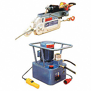 HYDRAULIC WIRE ROPE HOIST 14000LBS