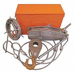 WIRE ROPE HOIST TU-32 RESCUE KIT