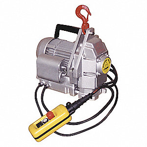 PORTABLE ELECTRIC HOIST 100KG 110V