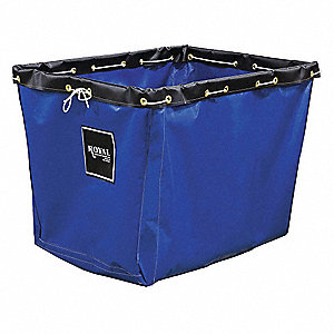 "Blue Vinyl Replacement Liner, For Use With 2CFP6, 12.4 cu. ft., 36"" L X 24""W"