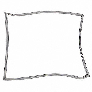 Door Gasket 1/2 In. W, 23-5/8 x 29-5/8