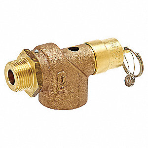 SAFETY VALVE ASME 3/4 IN X 1 IN 125
