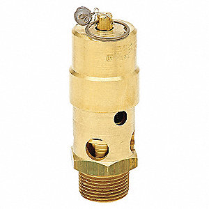 SAFETY VALVE ASME 1 IN 275 PSI