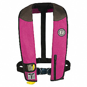 PFD INFLATABLE DLX HARNESS RD/BK/GY