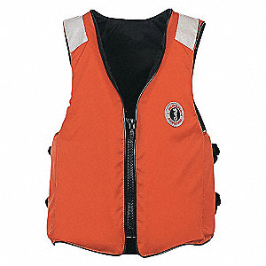 VEST FLOATATION ORANGE SIZE XL