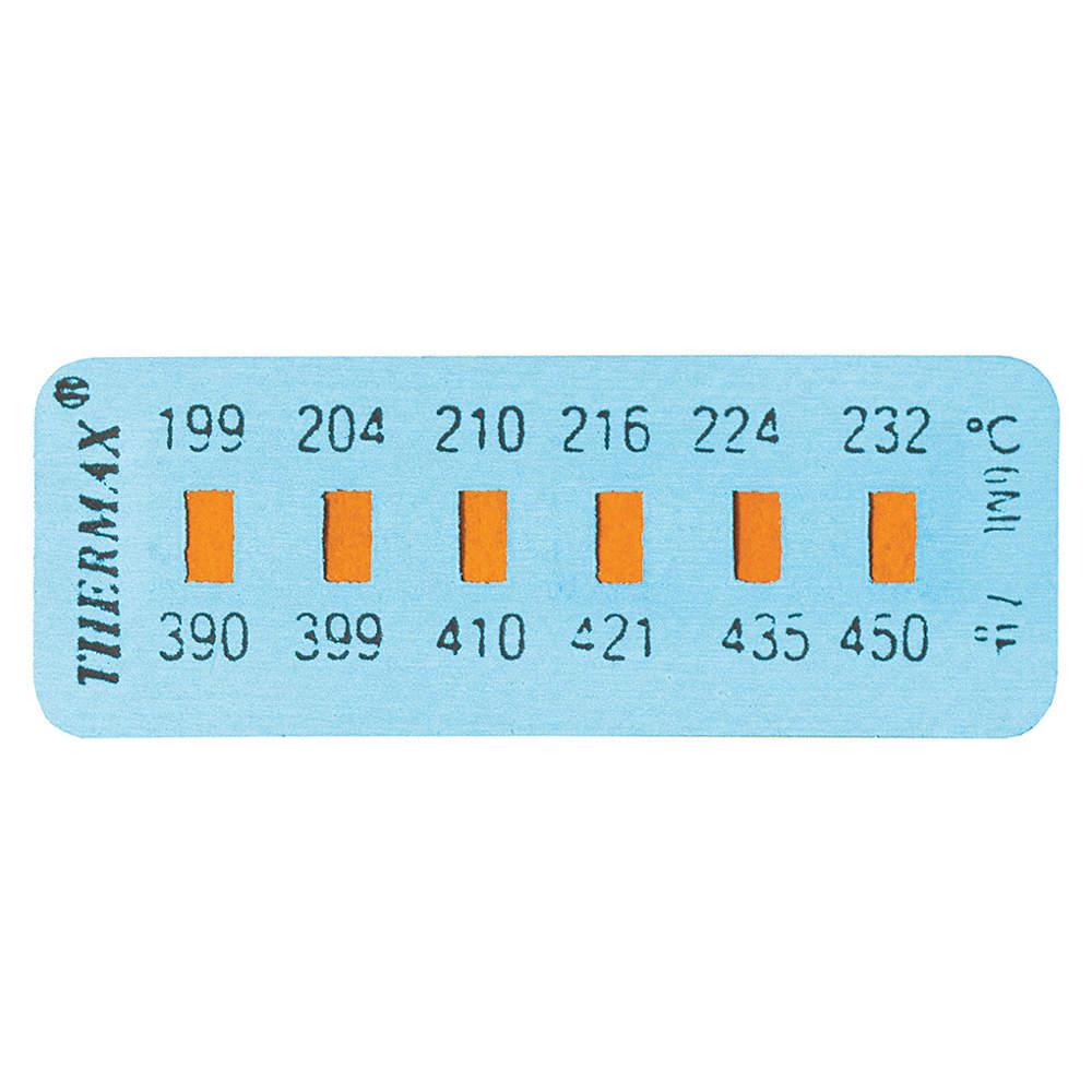 tempil temp indicating lbl tmx6 320f pk10 temperature indicator strips tpl26610 26610 grainger canada acklands grainger