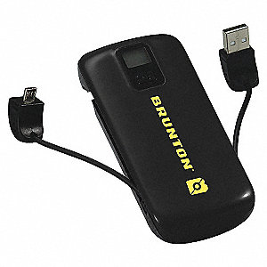 RECHARGEABLE POWER BANK BLK 4400MAH