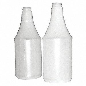 24 OZ OVAL PLASTIC BOTTLE