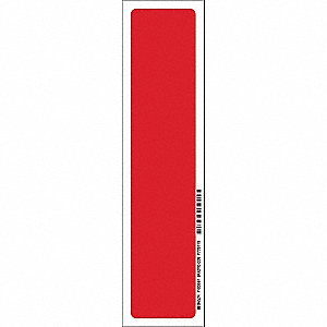 Fire Extinguisher Sign,14inHx3-1/2inW