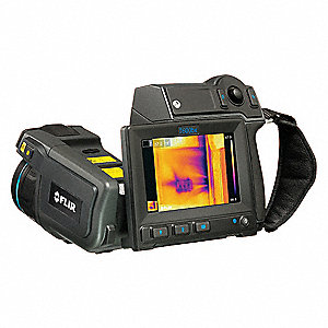 Building Diagnostic Infrared Camera, -40° to 662° Temp. Range, Focus Range: 0.25m to Infinity