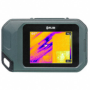 FLIR Infrared Camera,80 x 60,LCD,14 to 302F - 32MX57|FLIR C2 ...