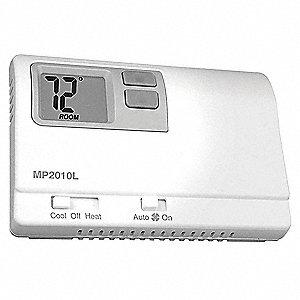 ICM Low Voltage Thermostat, Stages Cool 1, Stages Heat 1