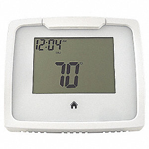 Thermostat,Touch Screen,4-47/64 in.