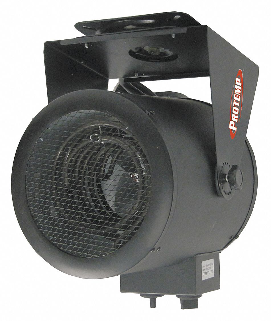 Pro Temp Electric Utility Heater 240vac Kw 50 Btuh 17000 Garage Heaters With Thermostat 1 Dimplex 32my67 Pt 05 240 Gh Grainger