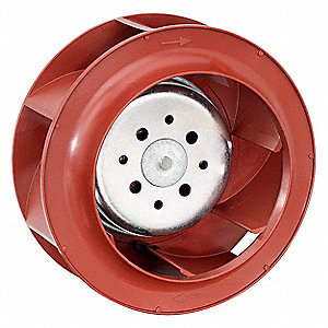 "Round Centrifugal Fan, 5-15/64"" Width, 5-15/64"" Height, 5-15/64"" Fan Dia., 48VDC Voltage"
