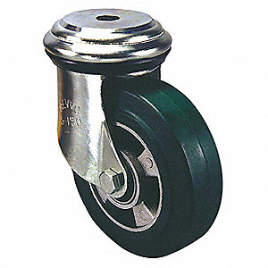 "6"" Bolt Hole Caster with 2000 lb. Load Rating and Roller Caster Wheel Bearings"