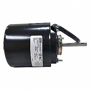 1/20 HP, HVAC Motor, Shaded Pole, 1550 Nameplate RPM, 115 Voltage, Frame 3.3