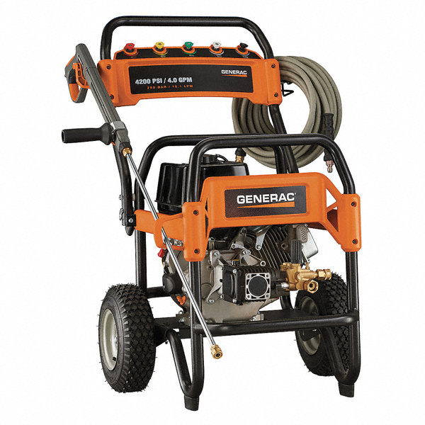 Generac Industrial Duty 3300 Psi And Greater Gas Cart