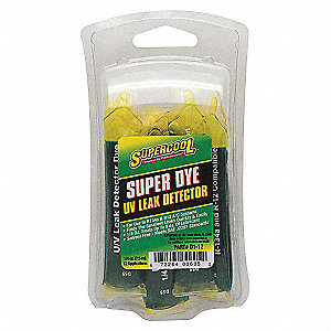 A/C LEAK DETECTION DYE,.25OZ,12PK