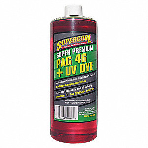 A/C COMP LUBE,UV DYE,32OZ.