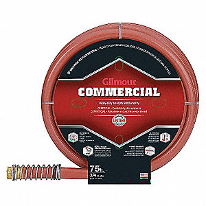 COMMERCIAL HOSE 500PSI 3/4IN X 75FT