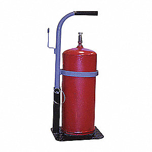 STAND SINGLE CYLINDER STEEL 27IN H