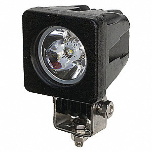 WORKLAMP LED MINI 2INX2IN SPOT CLR