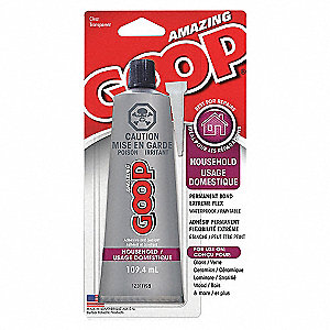 HOUSEHOLD ADHESIVE 109.4 ML CLEAR