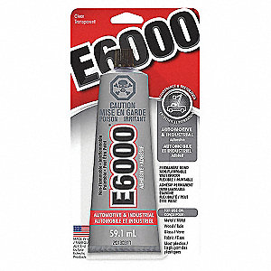 E6000 MED VISCOSITY CLEAR 109.4ML