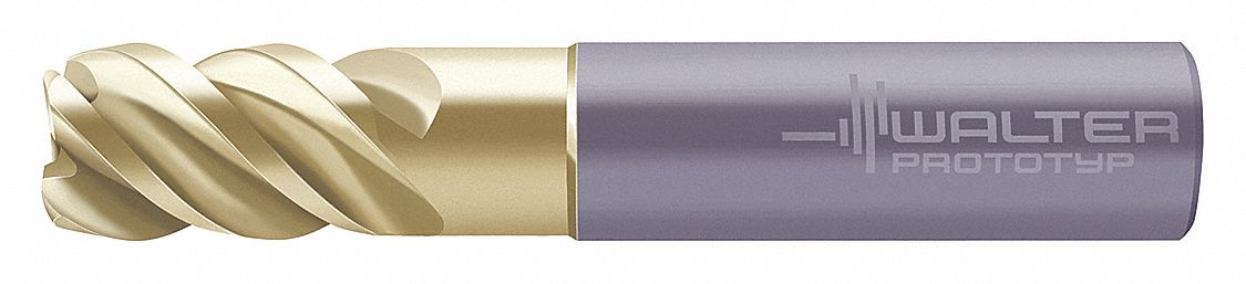 Uncoated Number of Flutes: 2 6.00mm Length of Cut Micro 100 Corner Radius End Mill 6.00mm Milling Dia. MMRM-060-11