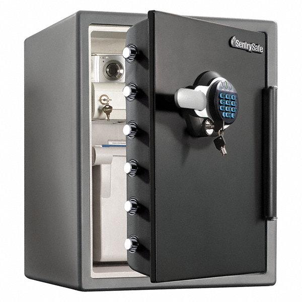 Costco Auto Program >> SENTRY SAFE Fire Safe,2.05 cu ft,Black/Gray - 32RT42 SFW205GRC - Grainger