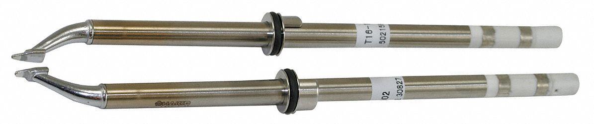 HAKKO T16-1002 Desoldering Tweezer Tip,Flat Blad,0.5mm