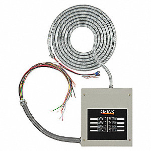 TRANSFER SWITCH AUTOMATIC,100A,GRAY